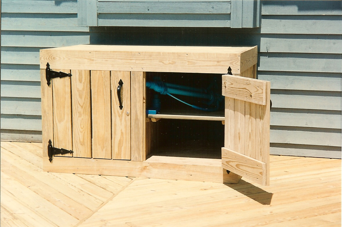 Charmant ... Deck Cabinet In Pressure Treated