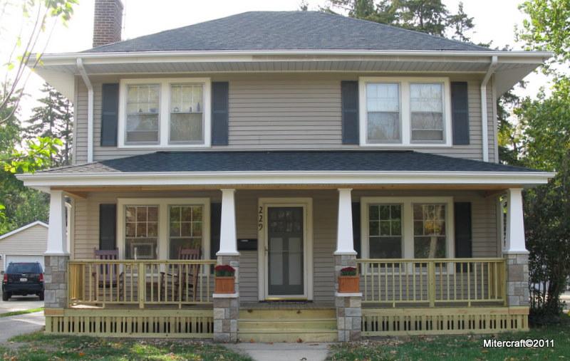 Railings - Craftsman front porch ideas ...